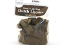Dutch Licorice Hard - Light Salt (Farm Shapes) - 3.5oz