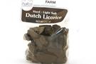 Dutch Licorice Hard - Light Salt (Farm Shapes) - 3.5oz