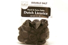 Dutch Licorice Hard & Extra Salty (Double Salt) - 3.5oz [6 units]