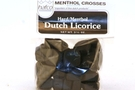 Buy Dutch Licorice Hard & Menthol (Menthol Crosses) - 3.5oz