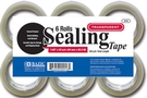 Buy Clear Packing Tape (6/pack) - 1.89 inch X 55 Yard