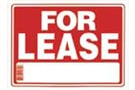 Buy For Lease Sign (12 inch X 16 inch)