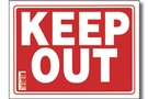 Buy Keep Out Sign (9 inch X 12 inch)