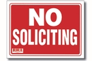 Buy No Soliciting Sign (9 inch X 12 inch)