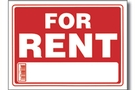 Buy For Rent Sign (9 inch X 12 inch)