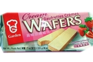 Cream Wafers (Strawberry Flavor) - 7oz