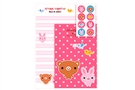 Buy JPC Letter Set - Always Together Bear & Rabbit (12 letters/6 envelopes/8 stickers)