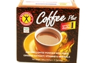 Coffee Plus Instant (Coffee with Fiber, Ginseng, Vitamins & Minerals)  - 4.76oz [3 units]