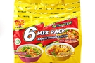 Ramen Noodles Soup (6 Mix Pack) - 17 oz