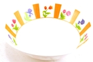 Buy GS Melamine Bowl (Colorful Flower Motives)