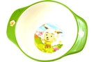 Buy Round Kids Bowl with Handles (Green)