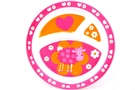 Buy Plate for Kids with 3 Sectioned (Pink Sheep)