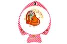 Melamine Fish-Shaped Childrens Bowl (Pink Bear) [ 6 units]
