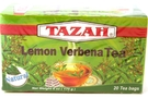 Buy Tazah Lemon Verbena Tea Bags - 6oz