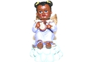 Buy GS African Angel Figure (Purple)