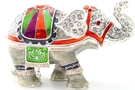 Buy Elephant Standing Jeweled Box