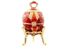 Buy Royal Egg Jeweled Box (Red)