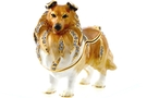 Buy Sheltie Jeweled Box #3468