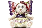Buy Flower Bear Pansy Jeweled Box #3618