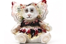 Buy Flower Bear Pansy Jeweled Box #3620