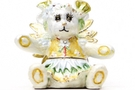 Buy Flower Bear Pansy Jeweled Box #3621