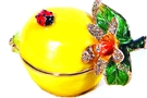 Buy Lemon Bejeweled Box