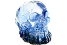 Buy Blue Translucent Skull On Flame