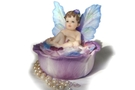 Buy Blue Pretty Pansy Trinket Box