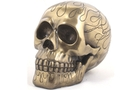 Buy Flame Skull Bronze