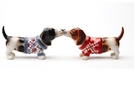 Buy Magnetic Salt and Pepper Shaker Set (Nothing But A Hound Dog) - 4 inch