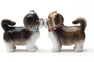 Buy Magnetic Salt and Pepper Shaker Set (Sweet Shih Tzus) - 3 1/2 inch