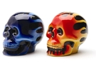 Buy Skull Flames Salt & Pepper Shaker Set