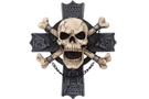 Buy Hell Rider Cross Bones Plaque