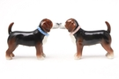 Buy Magnetic Salt and Pepper Shaker Set (Beagles) - 4 inch