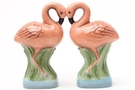 Buy Magnetic Salt and Pepper Shaker Set (Flamingos) - 4 inch