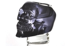 Buy Translucent Black Skull Candle Holder