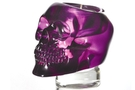 Buy Translucent Purple Skull Candle Holder