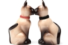 Magnetic Salt and Pepper Shaker Set (Siamese) - 2 1/2 inch