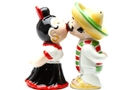 Buy Magnetic Salt and Pepper Shaker Set (Latinos) - 3 3/4 inch