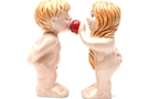 Buy Pacific Magnetic Salt and Pepper Shaker Set (Adam And Eve) - 3 1/2 inch