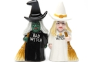 Buy Magnetic Salt and Pepper Shaker Set (Good Witch Bad Witch) - 4 inch