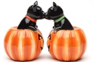 Buy Magnetic Salt and Pepper Shaker Set (Black Cat Pumpkins) - 3 1/2 inch