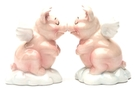 Buy Magnetic Salt and Pepper Shaker Set (Hog Heaven) - 4 inch