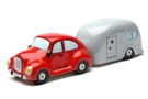 Buy Pacific Magnetic Salt and Pepper Shaker Set (Car And Trailer) - 2 1/2 inch