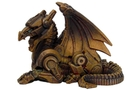 Buy Pacific Steampunk Dragon Statue Figurine Mini Victorian Scifi Robotic Collectible Rusty Finish #8655