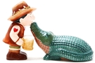Buy Pacific Magnetic Salt and Pepper Shaker Set (Croc Hunter) - 4 inch