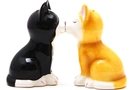 Buy Magnetic Salt and Pepper Shaker Set (Kittens) - 4 inch