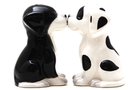 Buy Pacific Magnetic Salt and Pepper Shaker Set (Black & White Pups) - 4 inch