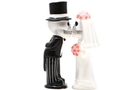 Buy Magnetic Salt and Pepper Shaker Set (Love Never Dies) - 4 inch