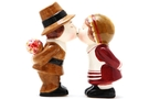 Buy Magnetic Salt and Pepper Shaker Set (Pilgrims) - 3 1/2 inch